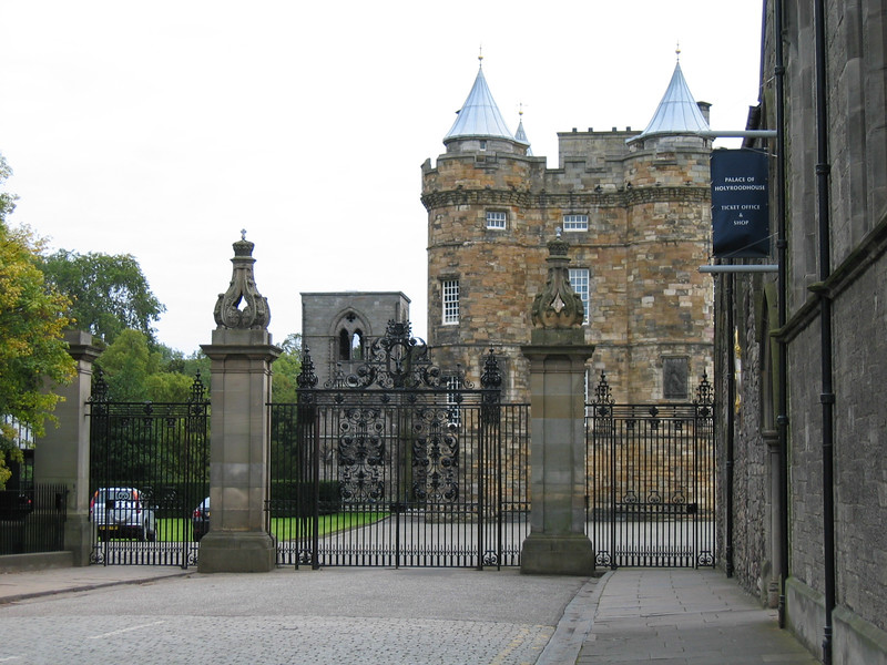 Sept. 29/07 - Palace of Holyroodhouse, Edinburgh.