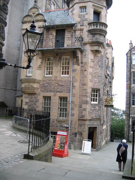Sept. 27/07 - Inside Lady Stair's Close off the Royal Mile, Edinburgh
