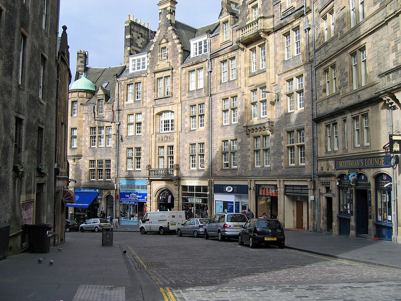 Sept. 27/07 - Cockburn St., off The Royal Mile, Edinburgh