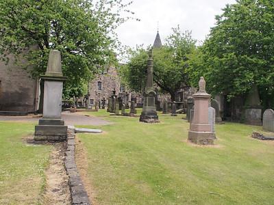 The Canongate Kirkyard