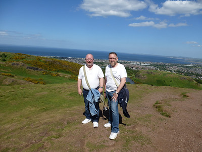 On Top Of Arthur's Seat