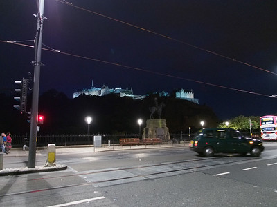 Edinburgh Castle & Princes Street