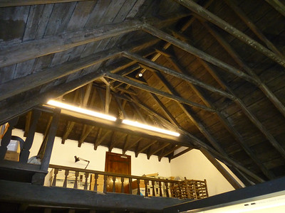 Original Beamed Ceiling