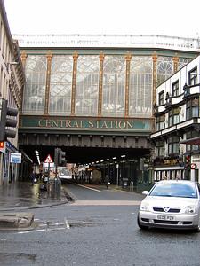 Sept. 30/07 - Central Station, taken from Argyle St., Glasgow.