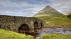 An old bridge near intersection of route A87 and A863, Isle of Skye.