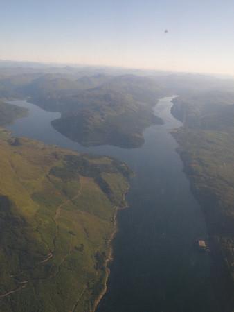 Inbound to Scotland 2009