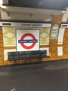 Covent Garden Undergound Station