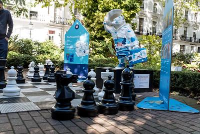 Giant Chess Game & Paddington Bear