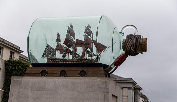Yinka Shonibare's Ship In A Bottle