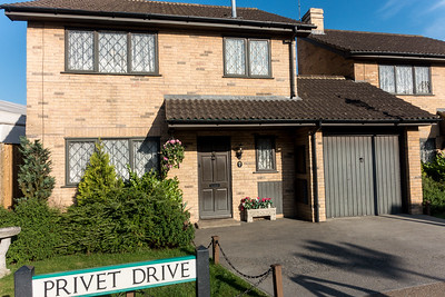 The Stage Set For Privet Drive
