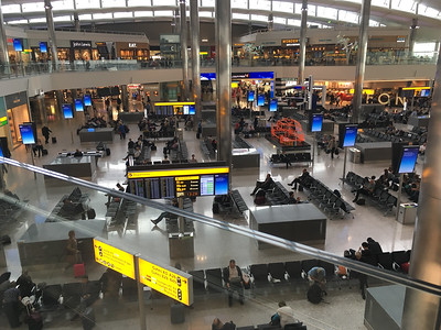 Heathrow Departure Lounge & Mall