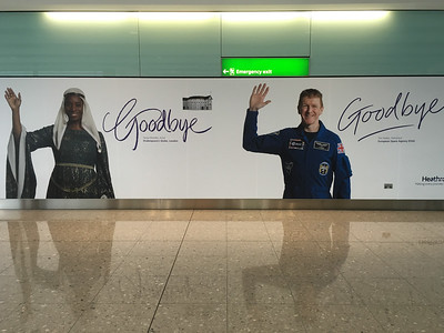 Goodbye London!