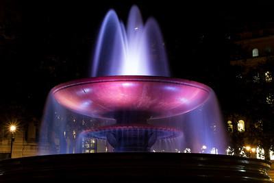 Night Photography In Trafalgar Square