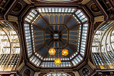 The Ceiling Of Leadenhall Market