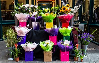 Flowers For Sale In Leadenhall Market