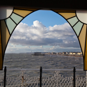 view from Palace Pier, Brighton