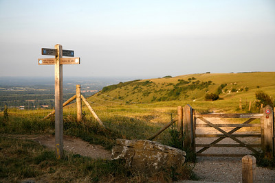 The South Downs Way, Ditchling Beacon
