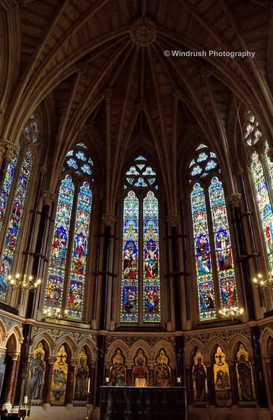 004 Interior of Chapel, Exeter College, Oxford