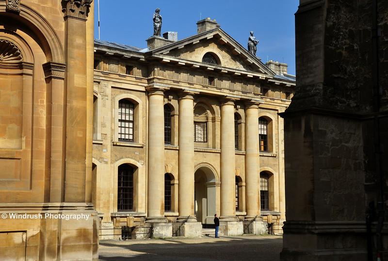 025 South face of Clarendon Building, Oxford