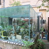 Garden oddities, Corpus Christi College, Oxford, UK
