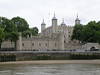 The Tower of London and the (blocked-up) Traitor's Gate; the water level in the Thames was very low that May.