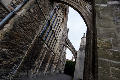 Flying Buttresses on the Parish Church of Saint Mary