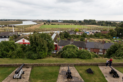 View From The Rye Castle Terrace