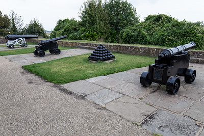 The Gun Garden at Ypres Tower