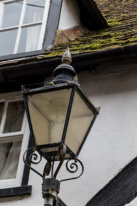 Lamp on Traders Passage