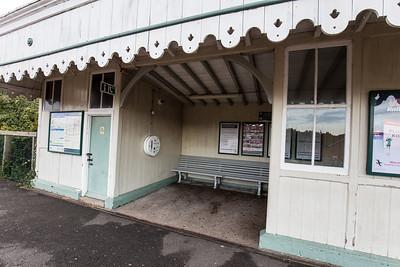 Waiting Room On The Rye Train Station Platform