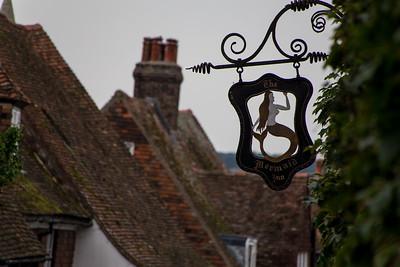 The Mermaid Inn Sign