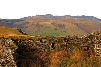 Ruin on our first hike, on Saturday. We're saving Cadar Idris for tomorrow...