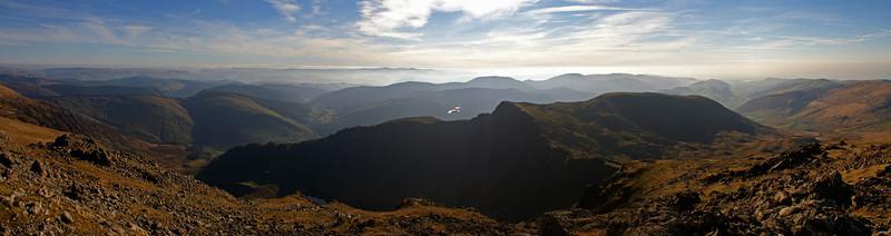 On top of Cadair Idris