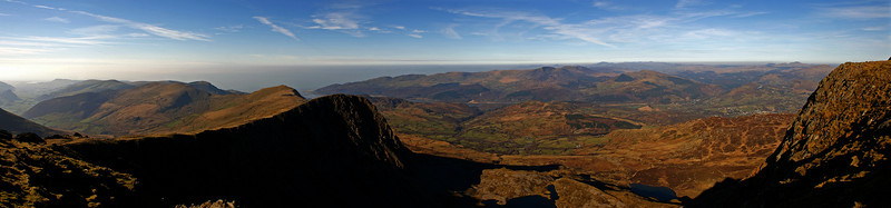 On top of Cadair Idris