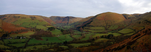 In the vicinity of Dolgellau (Nationalpark Snowdonia in Wales)