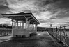 Sunset, Pier, Swanage