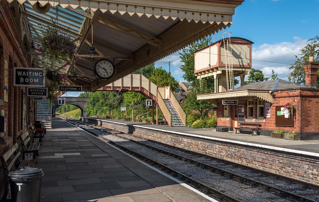 Toddington Station, Gloucestershire, England