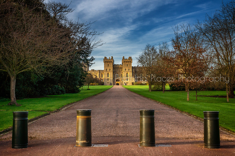 Windsor Castle from the Back
