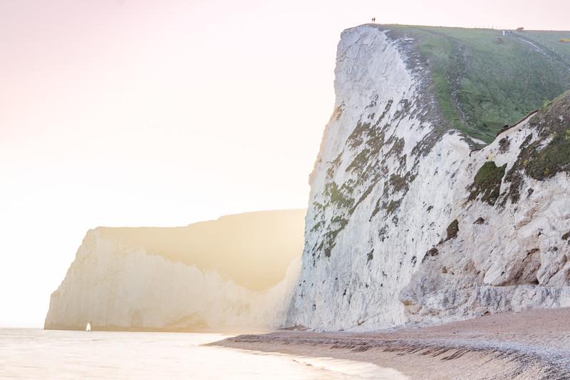Durdle Door cliffs