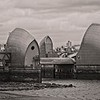 Thames Barrier, from Thames Barrier Park, Silvertown