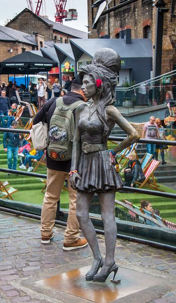 Amy Winehouse Statue by Scott Eaton