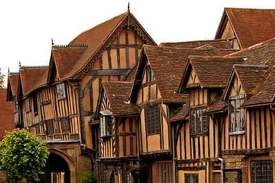 The Lord Leycester Hospital in Warwick