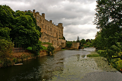 Warwick castle - we have to leave for Stratford now