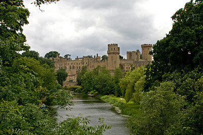 First view of Warwick Castle