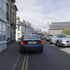 Typical 2 Lane Road--Criccieth, Wales