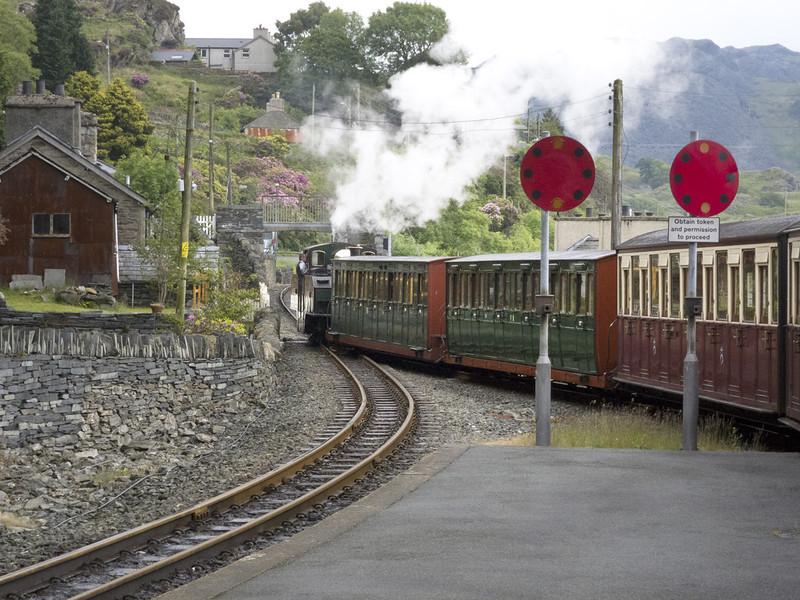 Narrow Guage RR from Porthmadog to Blaenau Ffestiniog, Wales