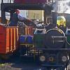 Coaling at Porthmadog