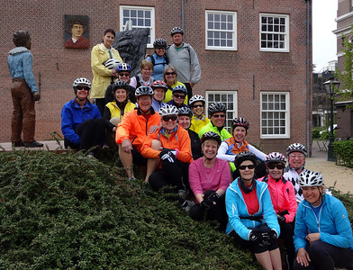 UNESCO Bike and Barge Tour of Holland: Days 3-4 Leiden, Kinderdijk, Gouda, and Dordrecht April 2014