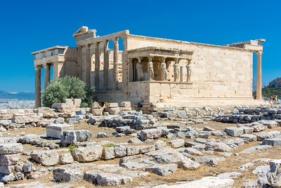 Erechtheion temple in Athens