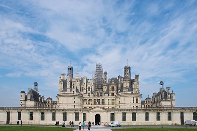 Château de Chambord in the Loire Valley, a World Heritage site; UNESCO #933